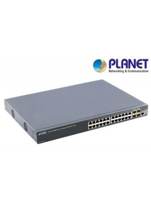 XGS3-24042 - 24-Port Gigabit with 4 Optional 10G slots Layer 3 Managed Stackable Switch