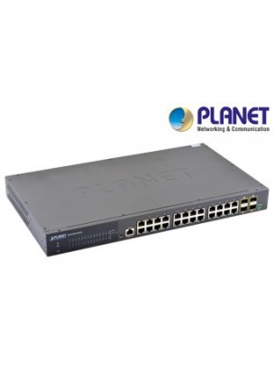 IGS-6330-24T4S - Industrial 24-Port 10/100/1000T + 4 1000X SFP Layer 3 Managed Switch (-40~75 degrees C)